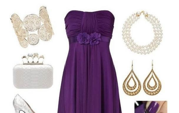 What Accessories to Wear Evening Gowns and Shoes for the Bridesmaids