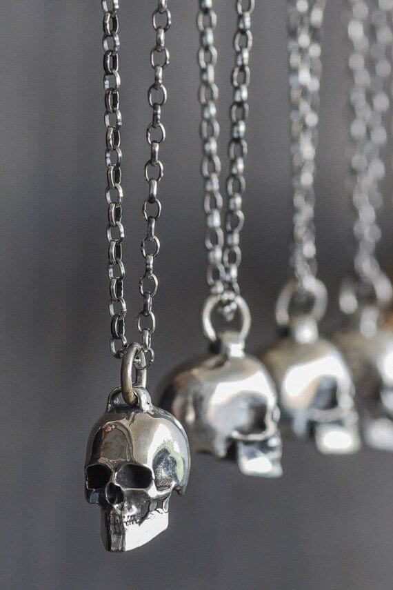 How To Wear Your Skull Necklace