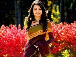 Trisha in saree
