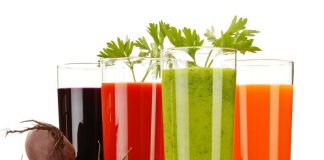 fruit and vegetable juices for glowing skin