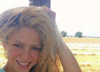 Shakira without makeup