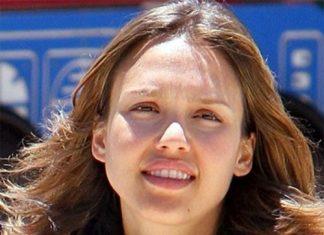 Jessica Alba without makeup